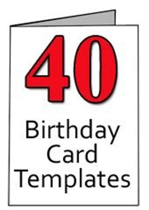 6 year birthday card template 40th birthday birthday card template and birthdays on