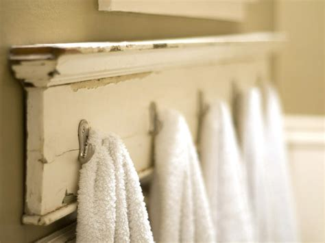 Bathroom Towel Hook Ideas Diy Bathroom Accessories For Your Rustic Bathroom Rustic Crafts Chic Decor