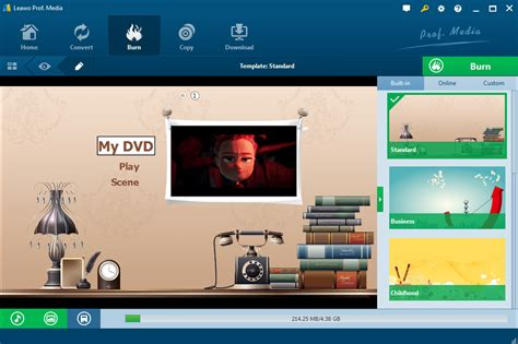 dvd menu templates after effects create dvds with 40 templates effects with leawo dvd