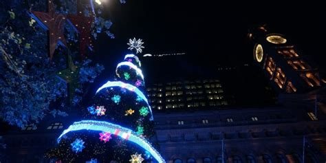 martin place tree lighting free events 2014 sydney by