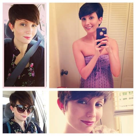 i grow my pixie haircut out no cutting for 6 months healthy vita growing out a pixie cut one year later