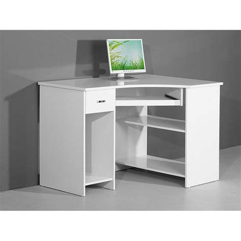 corner computer armoire white venus white high gloss corner computer desk computer