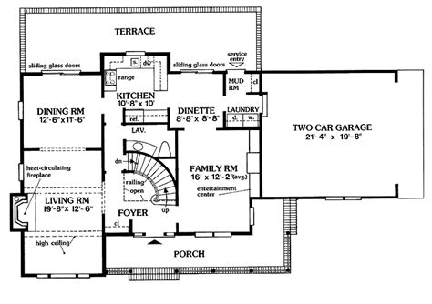 Center Hall Colonial Floor Plan by 301 Moved Permanently