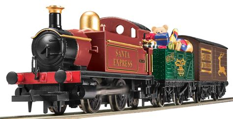 hornby r1179 hornby santa s express train set