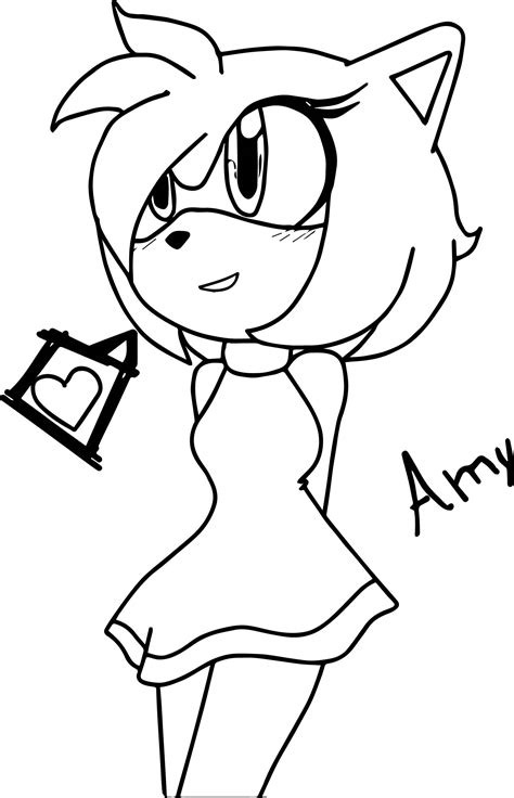 amy rose coloring pages online amy rose coloring pages az sketch coloring page