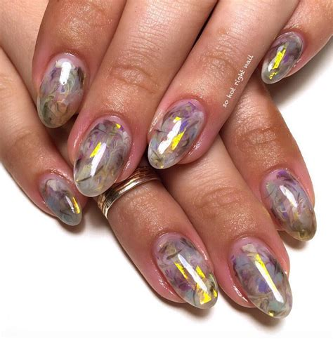 opal nail trend will turn your nails into precious gems