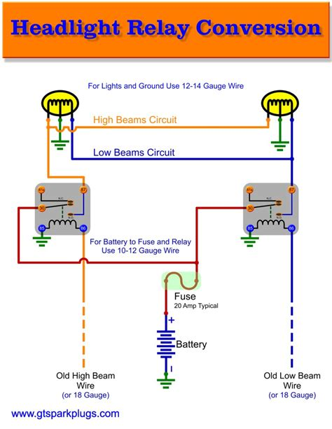 wiring diagram for 5 pin bosch relay bosch headlight relay