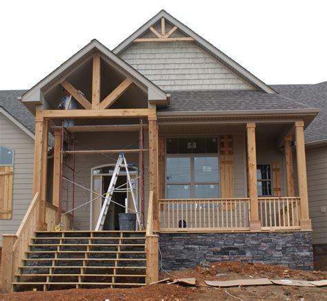 front porch house plans cedar columns for the home pinterest front