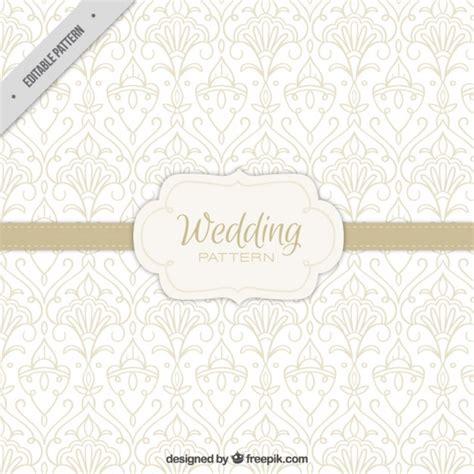 Freepik Wedding Pattern | ornamental wedding pattern vector free download