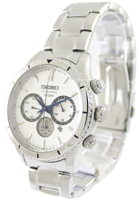 seiko chronograph quartz 100m srw033p1 srw033p mens