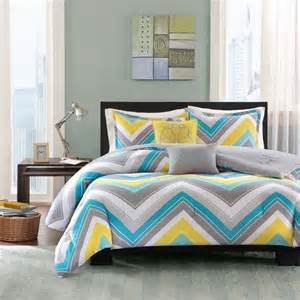 yellow and gray bedroom to get better sleeping quality