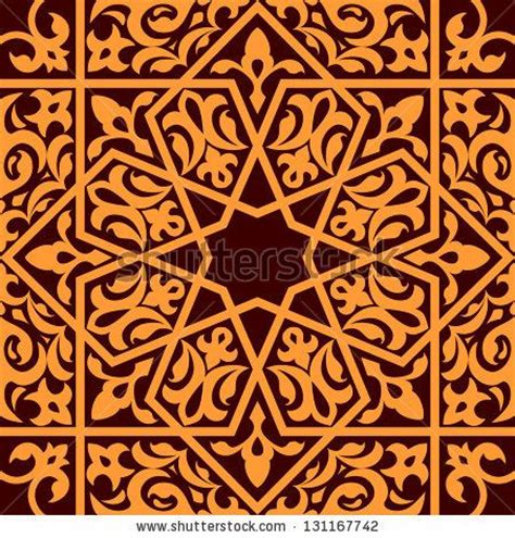 design pattern versioning arabic and islamic seamless ornament for background design