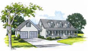 cape cod house plans attached garage cottage house plans