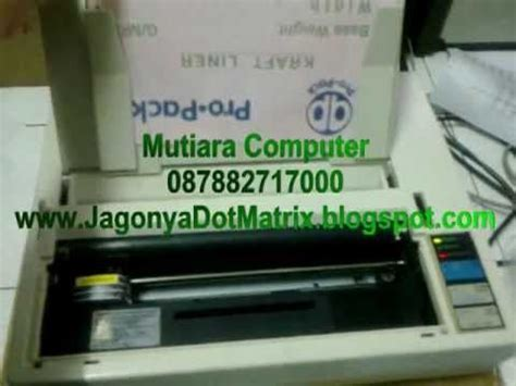 Jual Kertas Dot Matrix by Setting Printer Lx 310 Karaoke Fixdigital Doovi