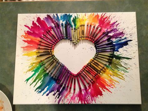 arts crafts ideas for crayon arts crafts project favorite dma