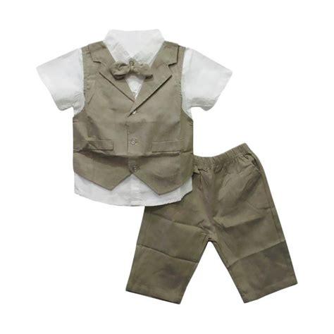 Stelan Kemeja jual import 743 setelan baju kemeja anak laki laki