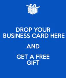 how to get gift cards for your business drop your business card here and get a free gift poster