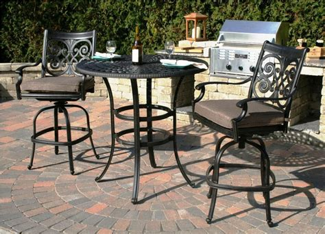 Best Bar Height Patio Furniture Sets