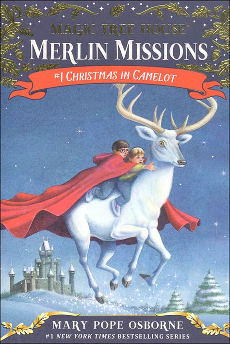 christmas in camelot magic tree house 29 046164