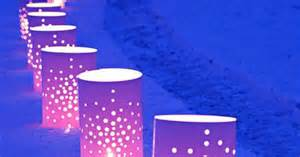 reusable luminaries vinyl luminaries reusable awesome for curb appeal