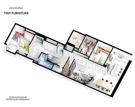 set design floor plan watercolor floorplans from recent television shows and films