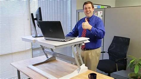 simple standing desk converter workfit desk desk design ideas