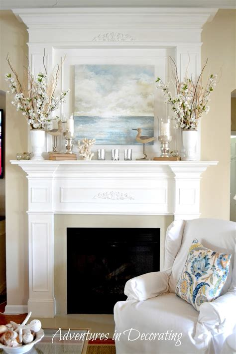 Mantle Decoration by From Front Porch To Yours How I Found Style Sundays