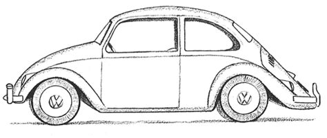 punch buggy car drawing buggy car drawing