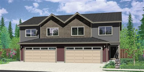 duplex house plans with garage duplex house plans duplex house plan with 2 car garage d 422