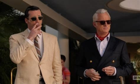 From Don Draper To Roger Sterling Get The Mad Men Look For Your | don draper roger sterling tv pinterest don draper