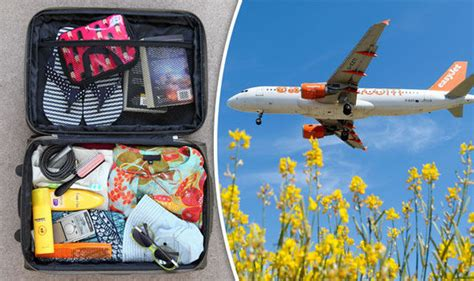 easyjet cabin bag allowance easyjet luggage allowance how much can i take travel