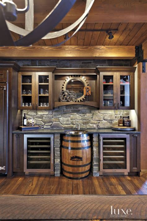rustic home bar ideas 297 best images about rustic kitchens on