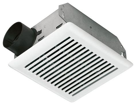 Modern Bathroom Exhaust Value Test 50 Cfm Wall Ceiling Mount Exhaust Bath Fan