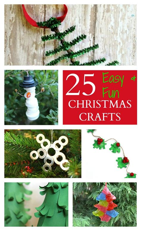 25 easy fun christmas crafts for kids raising whasians