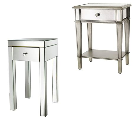 Affordable Mirrored Nightstand Mirrored Nightstand Cheap
