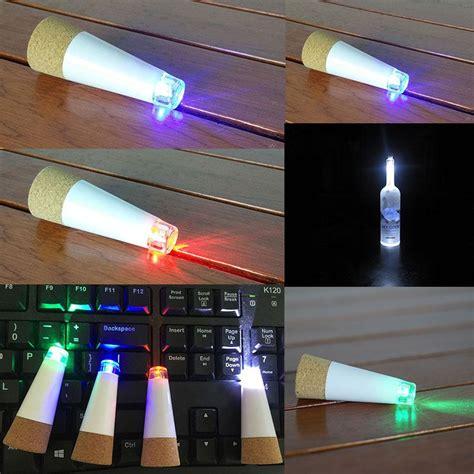 cork shaped rechargeable led bottle light cork shaped led wine bottle stopper light usb rechargeable