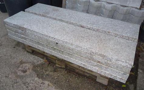 treppenstufen fliesen 4 st 252 ck treppenstufen aus granit 160 x 32 5 x 6 cm