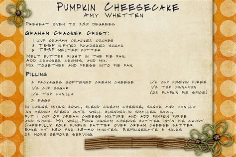 pumpkin recipe cards templates free harriet homemaker strikes again tasty tuesday pumpkin