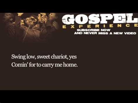 Swing Low Sweet Chariot Traduzione - swing low sweet chariot paroles louis armstrong greatsong