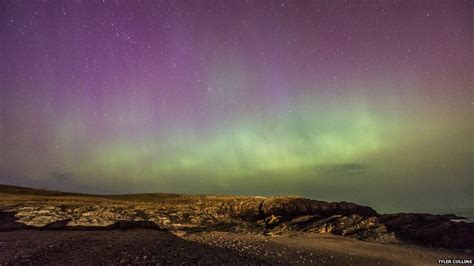 malin head northern lights northern lights ruined by social media says photographer