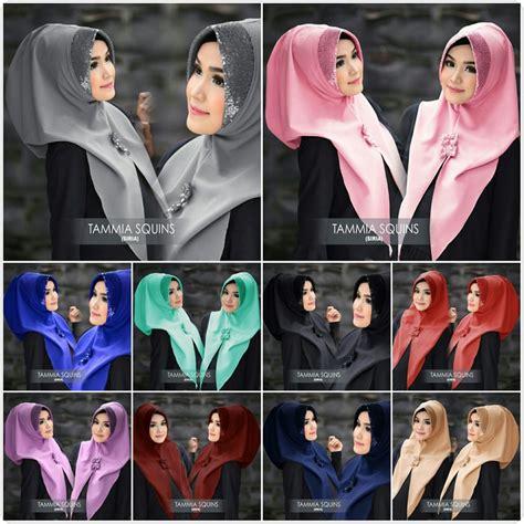 Jilbab Pashmina Crepe Twotone Dua Warna Abu Marun Grey Maroon kerudung terbaru siria tammia squins baju gamis