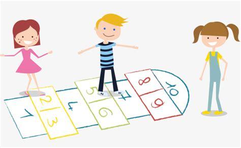 imagenes de niños jugando rayuela ni 241 os jugando a la rayuela juego ni 241 o rayuela png y