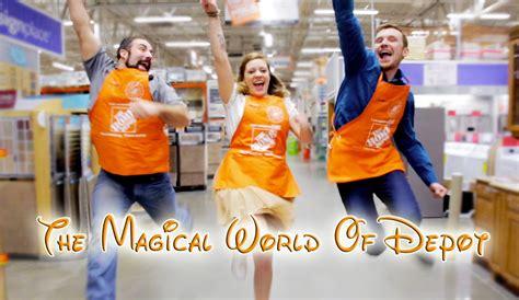 quot the magical world of depot quot home depot disney