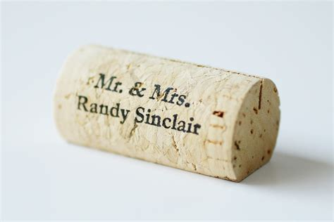 how to make cork place card holders personalized wine cork place card holders by corkeycreations
