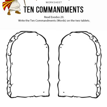 Pentecost Shavuot God S Appointed Time Free Bible Story And Activities Ten Commandments Printable Template