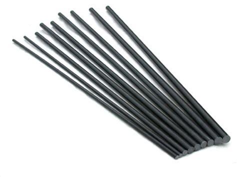 Carbon Fiber Rod Solid 1 8x750mm tige en fibre de carbone solide fibre de verre fibre de