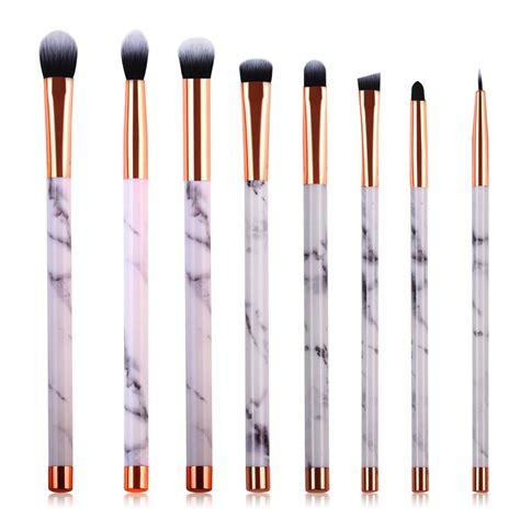 Eyeshadow Brush Set 5 by Professional Makeup Brushes Set 10pcs With