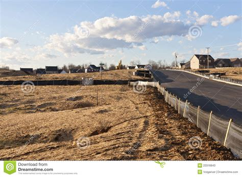 house site new house construction site stock photos image 23316843