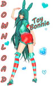Mmd fnaf dl toy bonnie by datenshiakura on deviantart
