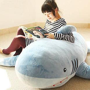 big shark pillow 1 8m big shark stuffed animal plush soft